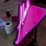 Neon hortum led tabela