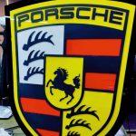 Porsche Isıklı Tabela imalat