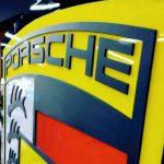 Porsche Isıklı Tabela imalatı
