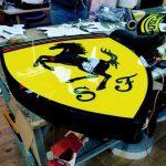 Ferrari sj 3D Led Tabela isvicre imalat